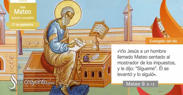 Photo of #EvangelioDelDia – 21 septiembre 2020 (San Mateo, apóstol y evangelista)
