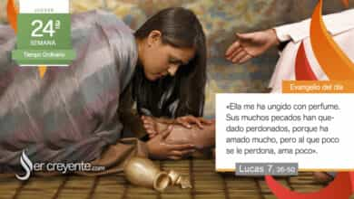 """Photo of Evangelio del día 16 septiembre 2021 (""""Al que poco se le perdona, ama poco"""")"""