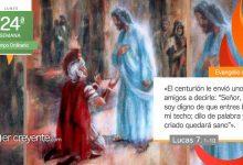 """Photo of Evangelio del día 13 septiembre 2021 (""""No soy digno de que entres bajo mi techo"""")"""