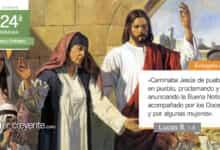 """Photo of Evangelio del día 17 septiembre 2021 (""""Le acompañaban algunas mujeres"""")"""