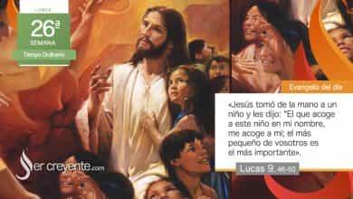 """Photo of Evangelio del día 27 septiembre 2021 (""""El más pequeño es el más importante"""")"""