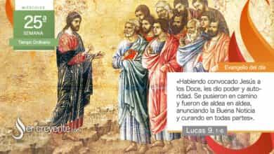 """Photo of Evangelio del día 22 septiembre 2021 (""""Se pusieron en camino"""")"""