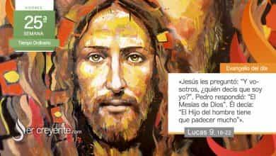 """Photo of Evangelio del día 24 septiembre 2021 (""""Y vosotros, ¿quién decís que soy yo?"""")"""