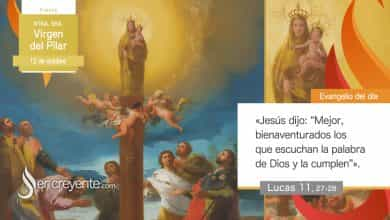 Photo of #EvangelioDelDia – 12 octubre 2020 (Ntra. Sra. Virgen del Pilar)
