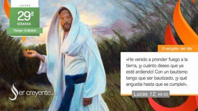 """Photo of Evangelio del día 22 octubre 2020 (""""He venido a prender fuego a la tierra"""")"""