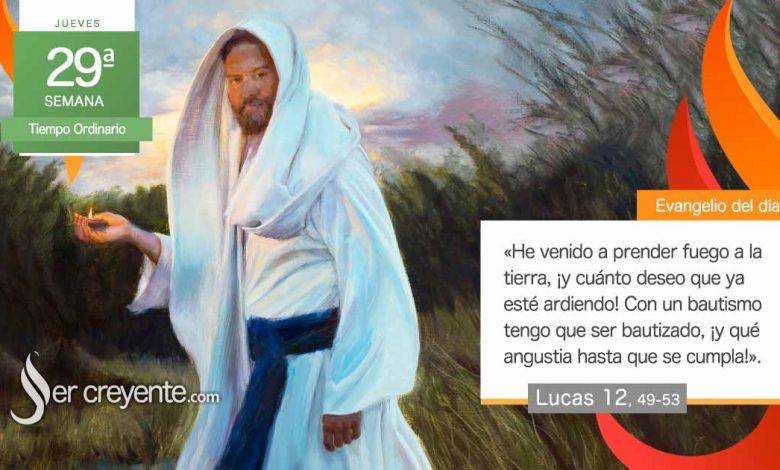 """Photo of Evangelio del día 21 octubre 2021 (""""He venido a prender fuego a la tierra"""")"""