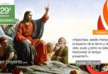 """Photo of Evangelio del día 23 octubre 2020 (""""¿Cómo no sabéis interpretar el tiempo presente?"""")"""