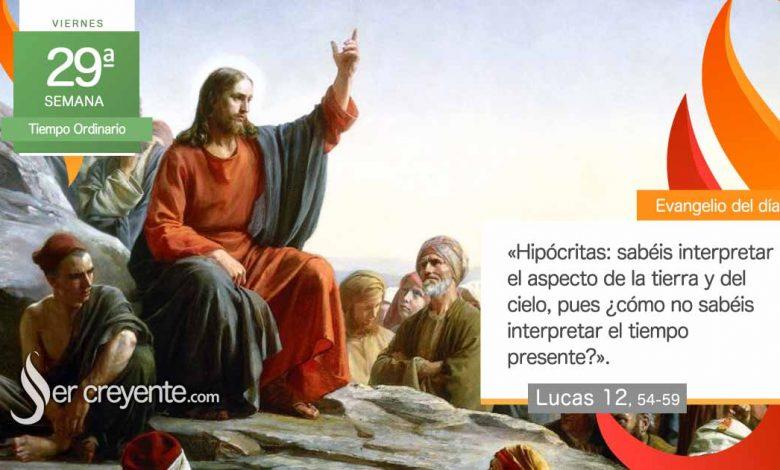"""Photo of Evangelio del día 22 octubre 2021 (""""¿Cómo no sabéis interpretar el tiempo presente?"""")"""