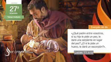 """Photo of Evangelio del día 7 octubre 2021 (""""Pedid y se os dará"""")"""
