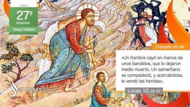 """Photo of Evangelio del día 4 octubre 2021 (""""Un samaritano, al verlo, se compadeció"""")"""