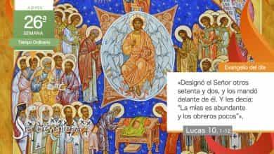 """Photo of Evangelio del día 30 septiembre 2021 (""""La mies es abundante y los obreros pocos"""")"""