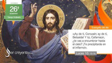 """Photo of Evangelio del día 1 octubre 2021 (""""¿Te vas a encumbrar hasta el cielo?"""")"""