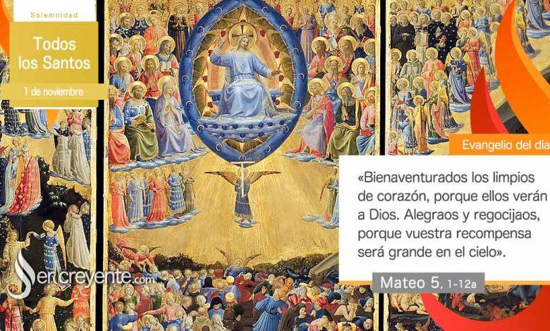 Photo of Evangelio del día 1 noviembre 2020 (Todos los Santos)