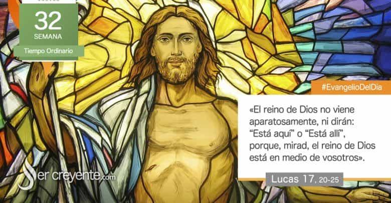 """Photo of Evangelio del día 12 noviembre 2020 (""""¿Cuándo va a llegar el reino de Dios?"""")"""