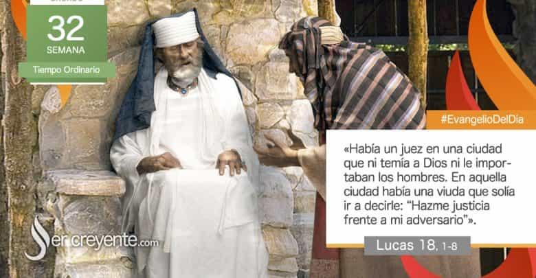 """Photo of Evangelio del día 14 noviembre 2020 (""""Había un juez que ni temía a Dios ni le importaban los hombres"""")"""