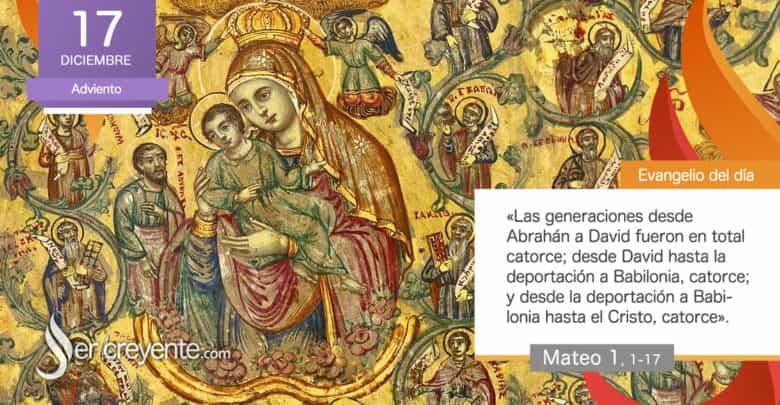 """Photo of Evangelio del día 17 diciembre 2020 (""""Y Jacob engendró a José, el esposo de María"""")"""