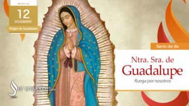 Photo of 12 diciembre – Virgen de Guadalupe