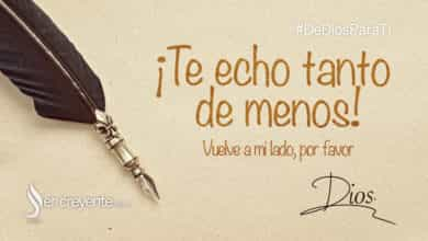 Photo of ¡Te echo tanto de menos!