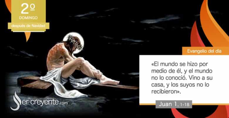 """Photo of Evangelio del día 3 enero 2021 (""""El mundo no lo conoció"""")"""