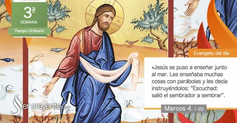 """Photo of Evangelio del día 27 enero 2021 (""""Salió el sembrador a sembrar"""")"""