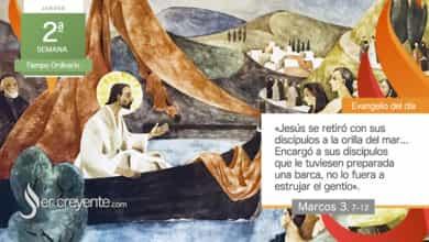 """Photo of Evangelio del día 21 enero 2021 (""""Se retiró con sus discípulos a la orilla del mar"""")"""