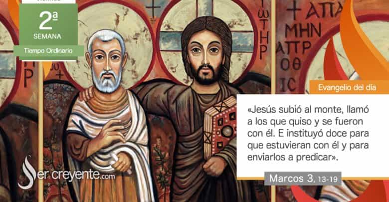 """Photo of Evangelio del día 22 enero 2021 (""""Llamó a los que quiso y se fueron con él"""")"""