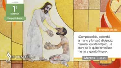 """Photo of Evangelio del día 14 enero 2021 (""""Se acercó a Jesús un leproso"""")"""