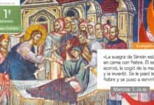 """Photo of Evangelio del día 13 enero 2021 (""""Se le pasó la fiebre y se puso a servirles"""")"""