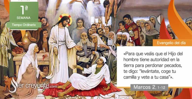 """Photo of Evangelio del día 15 enero 2021 (""""Hijo, tus pecados te son perdonados"""")"""
