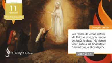 Photo of Evangelio del día 11 febrero 2021 (Ntra. Sra. de Lourdes)