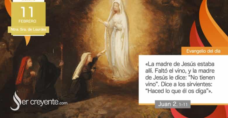 Photo of #EvangelioDelDia – 11 febrero 2020 (Ntra. Sra. de Lourdes)