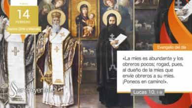 Photo of 14 febrero – Santos Cirilo y Metodio
