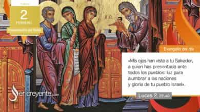 Photo of Evangelio del día 2 febrero 2021 (Presentación del Señor)