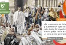 """Photo of Evangelio del día 15 febrero 2021 (""""Pidieron a Jesús un signo del cielo"""")"""
