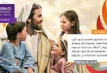 """Photo of Evangelio del día 19 febrero 2021 (""""¿Por qué tus discípulos no ayunan?"""")"""