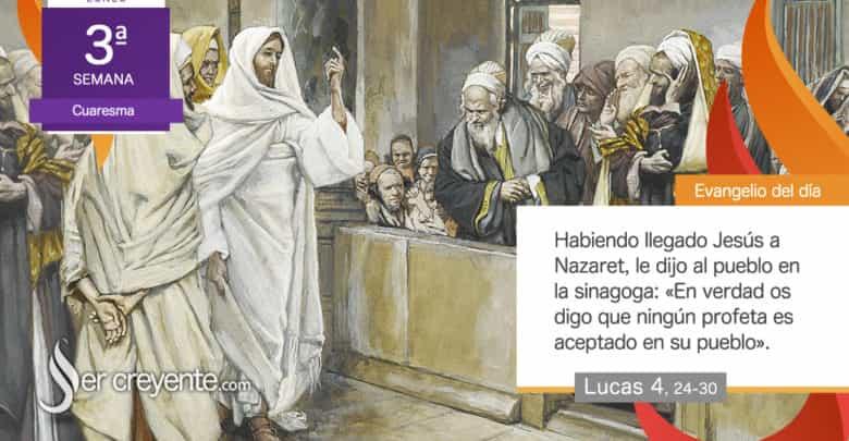 """Photo of Evangelio del día 8 marzo 2021 (""""Ningún profeta es aceptado en su pueblo"""")"""