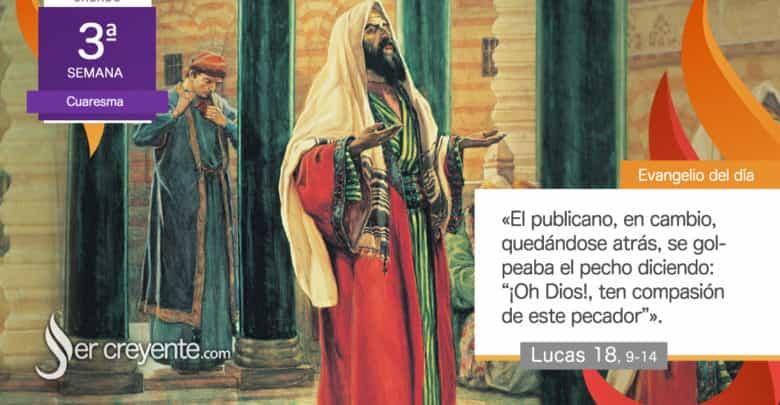 """Photo of Evangelio del día 13 marzo 2021 (""""Dos hombres subieron al templo a orar"""")"""
