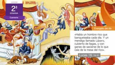 """Photo of Evangelio del día 4 marzo 2021 (""""Había un rico y un mendigo llamado Lázaro"""")"""