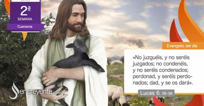 """Photo of Evangelio del día 1 marzo 2021 (""""Sed misericordiosos, no juzguéis"""")"""