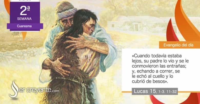 """Photo of Evangelio del día 6 marzo 2021 (""""Su padre lo vio y lo cubrió de besos"""")"""
