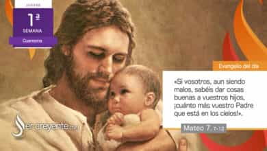 """Photo of Evangelio del día 25 febrero 2021 (""""¡Cuánto más vuestro Padre!"""")"""