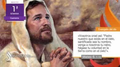 """Photo of Evangelio del día 23 febrero 2021 (""""Vosotros orad así: Padre nuestro"""")"""