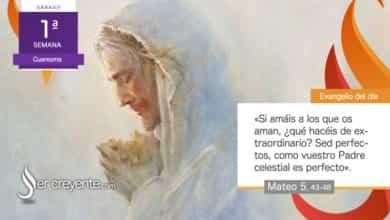 """Photo of Evangelio del día 27 febrero 2021 (""""Amad a vuestros enemigos"""")"""