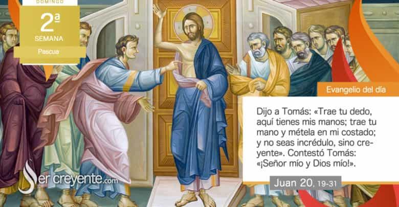 """Photo of Evangelio del día 11 abril 2021 (""""Bienaventurados los que crean sin haber visto"""")"""