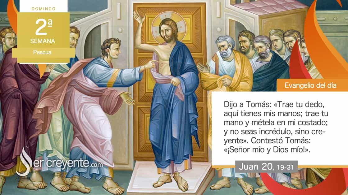 2 domingo pascua Bienaventurados los que crean sin haber visto