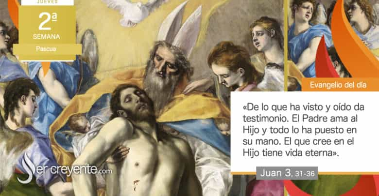 "Photo of Evangelio del día 15 abril 2021 (""El que cree posee la vida eterna"")"