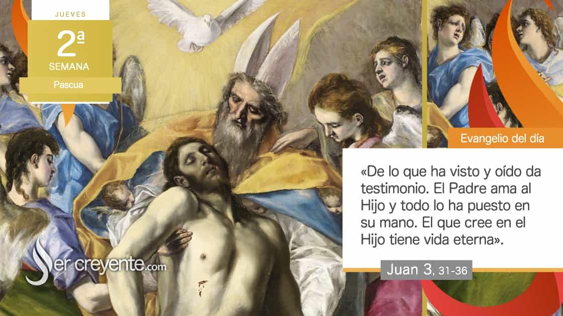 jueves 2 pascua El que cree posee la vida eterna