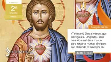 """Photo of Evangelio del día 14 abril 2021 (""""Tanto amó Dios al mundo"""")"""