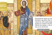 """Photo of Evangelio del día 8 abril 2021 (""""Se presentó en medio de ellos"""")"""