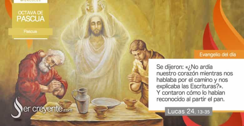 """Photo of Evangelio del día 7 abril 2021 (""""¿No ardía nuestro corazón?"""")"""